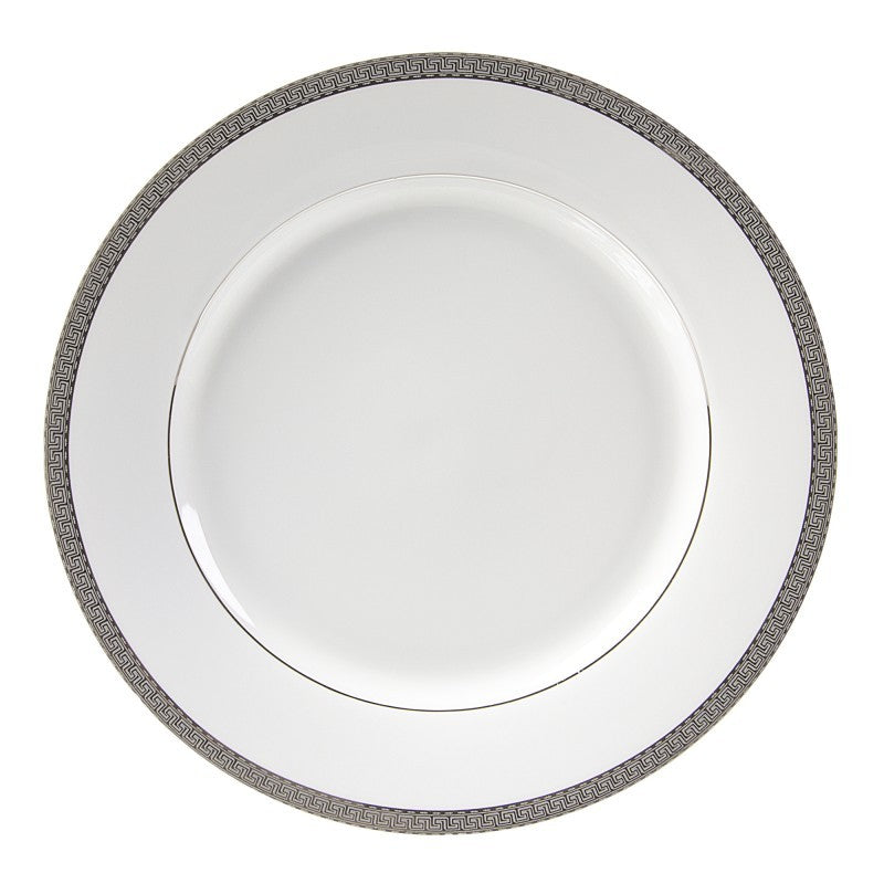 "10 Strawberry Street Luxor 11.88"" Platinum Charger Plates- Pack Of 12 LUX-24P - Comstrom"