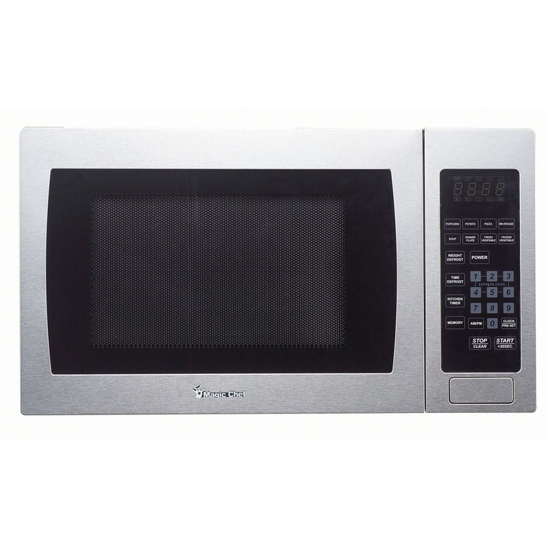 Magic Chef Microwave Oven 0.9 Cu Ft Countertop Digital Touch Mcm990St