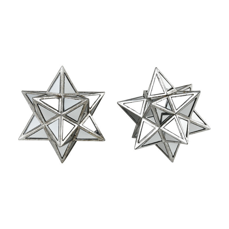 Diamond Dust Ornamental Stars 3212-1022/S2 By Sterling
