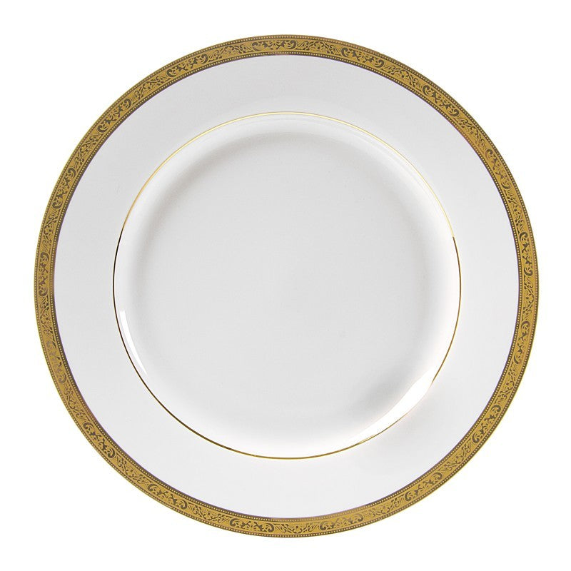 "10 Strawberry Street Paradise 11.88"" Gold Charger Plates- Pack Of 12 PAR-24G - Comstrom"
