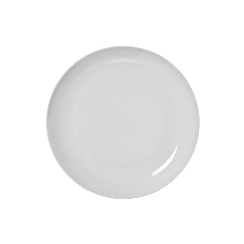 "10 Strawberry Street Royal Coupe White 9.13"" Luncheon Plates- Pack Of 24 RCP0008 - Comstrom"