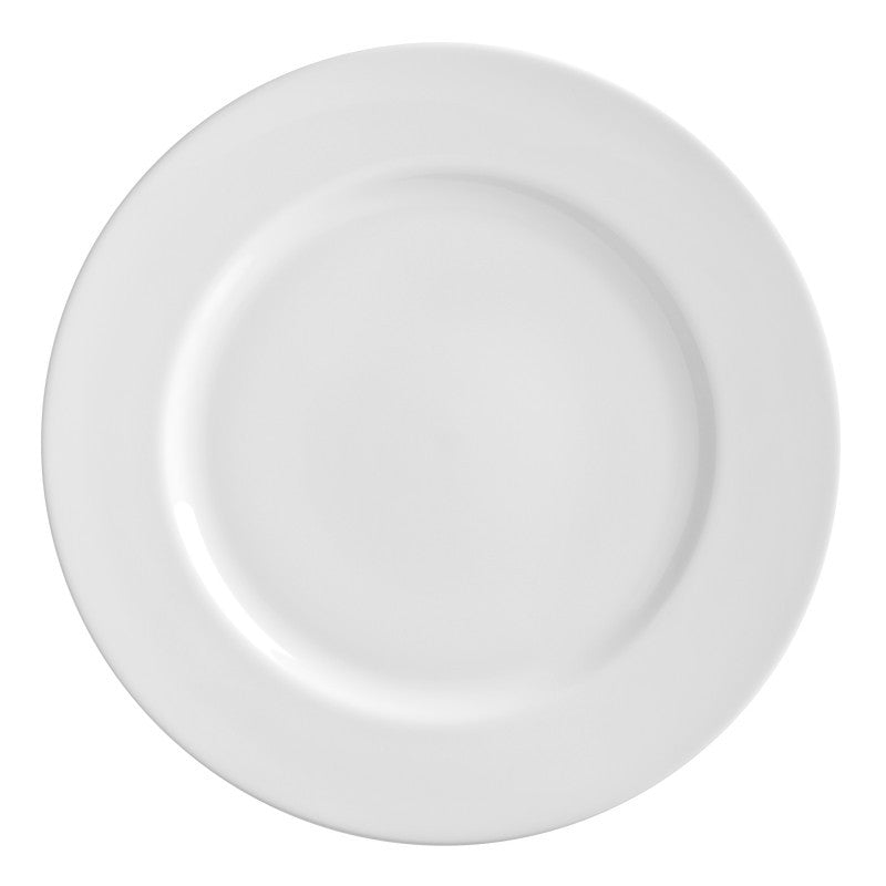 "10 Strawberry Street Royal White 11.88"" Charger Plates- Pack Of 12 RW0024 - Comstrom"