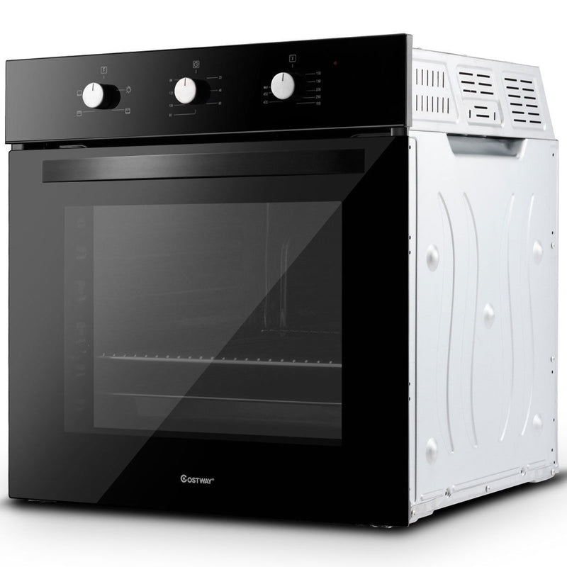 "24"" Electric Built-In Single Wall Oven 220V Buttons Control EP23612"