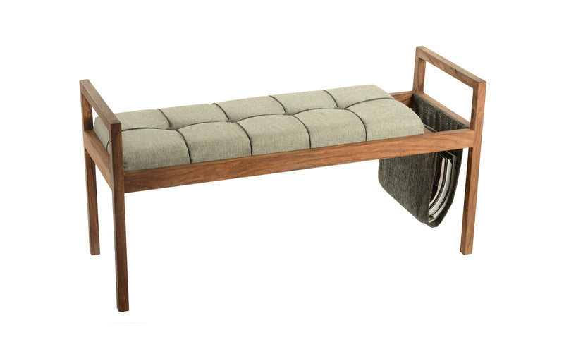 Awesome Uma Traditional Fir Wood Tufted Storage Bench 90650 Comstrom Caraccident5 Cool Chair Designs And Ideas Caraccident5Info