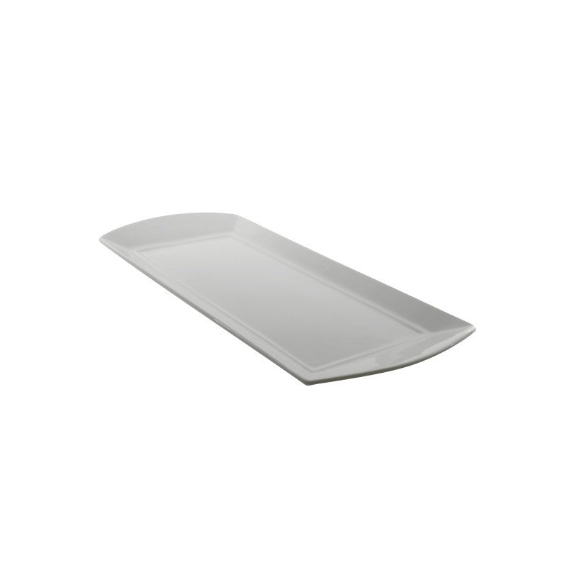 "10 Strawberry Street Whittier Elite 12"" Rectangle Platter- Pack Of 24 WEL-12REC - Comstrom"