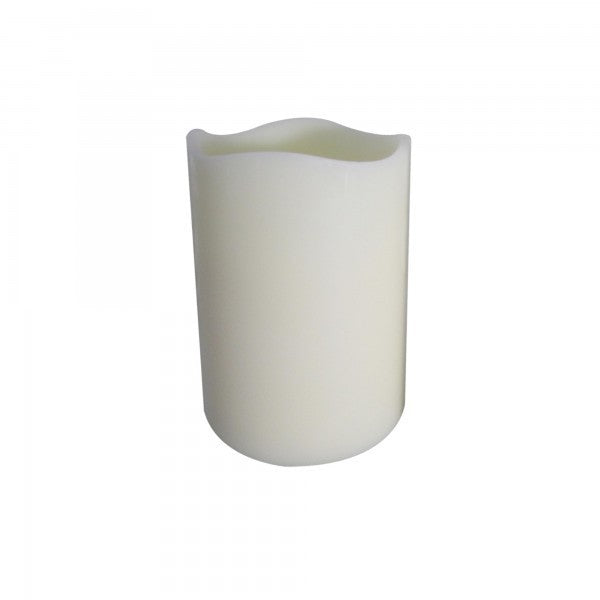 Yosemite Home Decor Cream Home Accent Led Scented Candles YCANW46M - Comstrom