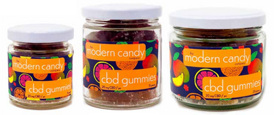 CBD Pâte de Fruit in Assorted Fruit Flavors