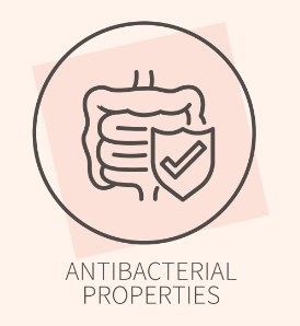 Antibacterial icon, for Ivy Leaf Skincare blog