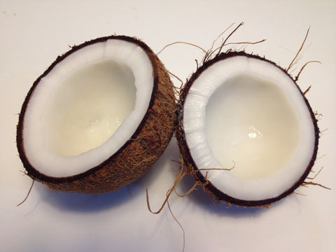 Coconut, for Ivy Leaf Skincare blog