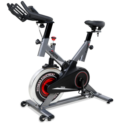 Used & Like New- Magnetic Indoor Cycling Bike with Belt Drive - JOROTO XM30