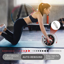 Ab Roller Wheel-AR60(RED) - jorotofitness