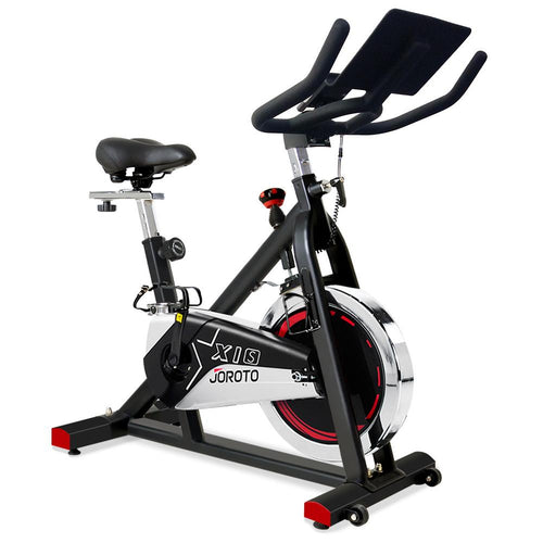 Indoor Cycling Spin Bike - JOROTO X1S Updated Belt Drive Version - jorotofitness