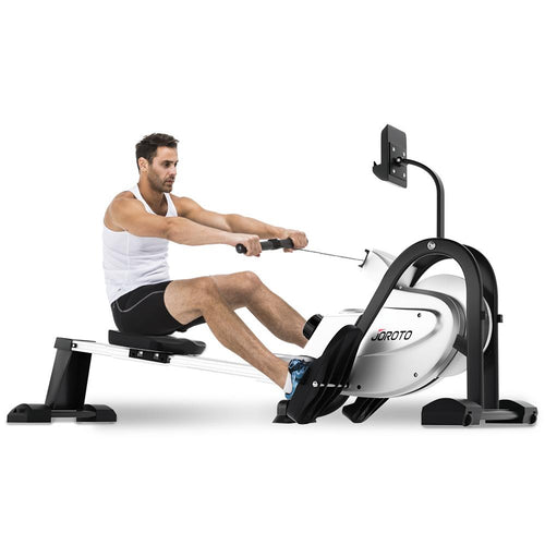 Magnetic Rowing Machine Folding Exercise Rower - JOROTO MR35 - jorotofitness