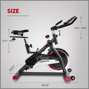 Second Hand, Almost New, Indoor Cycling Spin Bike - JOROTO X1S ( Canana Warehouse) - jorotofitness