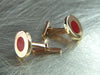 Red Dot Cufflinks