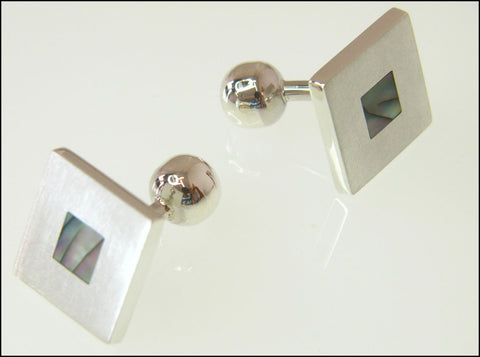 Abalone cufflinks ( fixed )