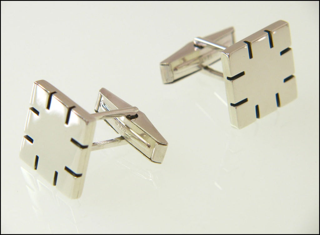 Ruler cufflinks ( mechanical )