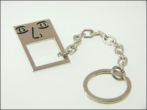 Square guy  keyring