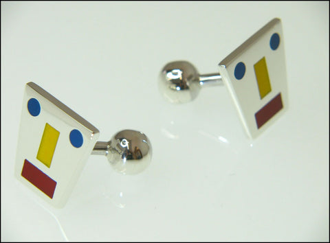Mondrian Cufflinks ( fixed )