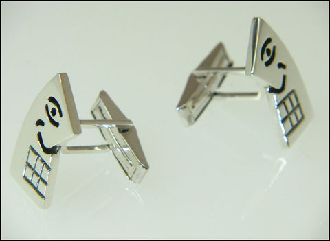 Picasso cufflinks ( mechanical )