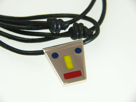 Mondrian necklace