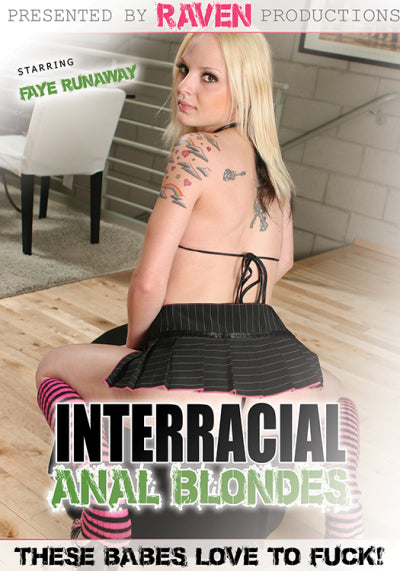 Interracial Anal Blondes