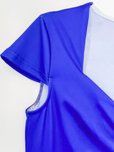 Load image into Gallery viewer, Blue Moon Cap Sleeve Sweetheart Neck Ruched Retro Dress