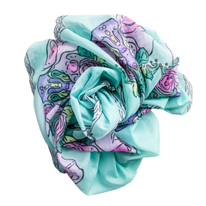 Garden Party Chiffon Scarf-Large