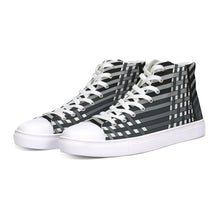 Load image into Gallery viewer, Another Dimension Canvas Hi-Top Sneakers-Unisex