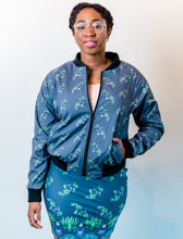 Load image into Gallery viewer, Succulent Bomber Jacket-Women