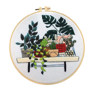 Plant Lover Pandemic Heaven Embroidery Sets