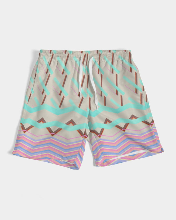 Just Peachy Swim Trunks