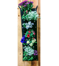 Load image into Gallery viewer, 7 Pocket Recycled Plastic Vertical Planter