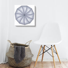 "Load image into Gallery viewer, Canvas Print of Original ""Hendecagon"" Painting"
