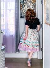 Load image into Gallery viewer, Just Peachy Pleated Midi Skirt