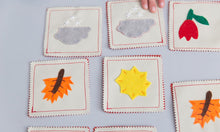 Load image into Gallery viewer, Handmade Fabric Seasons Mini Memory Game