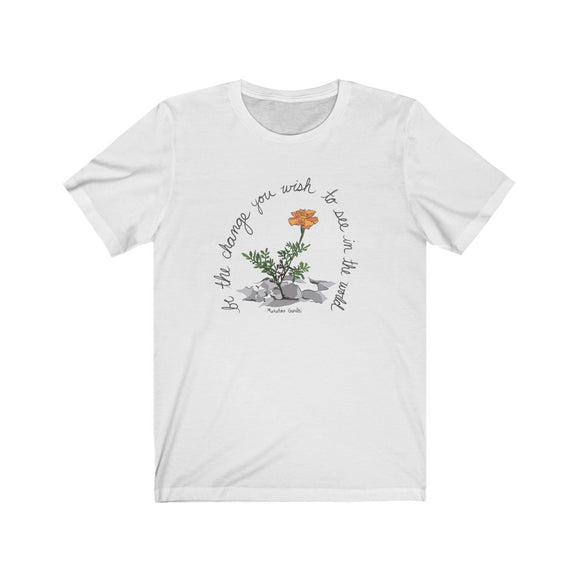 Eco-Friendly Be the Change Fundraising T-Shirt-Unisex