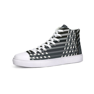 Another Dimension Canvas Hi-Top Sneakers-Unisex