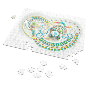 Motherhood Artwork Puzzle: Pacifier Mandala