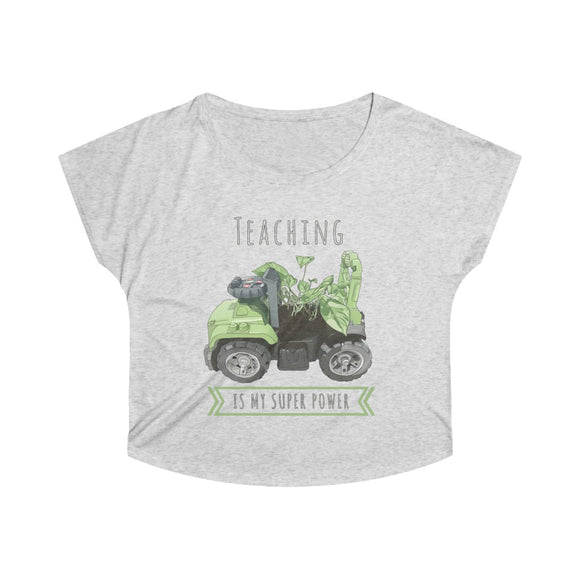 Teaching Superhero Dolman T-shirt