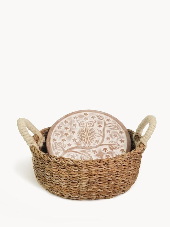 Handmade Owl Bread Warmer & Basket