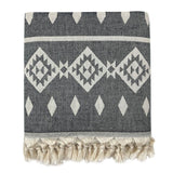 Hand Made Geometric Turkish Throw Blanket