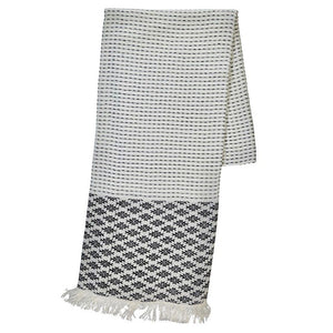 Aztec Stripe Turkish Towel