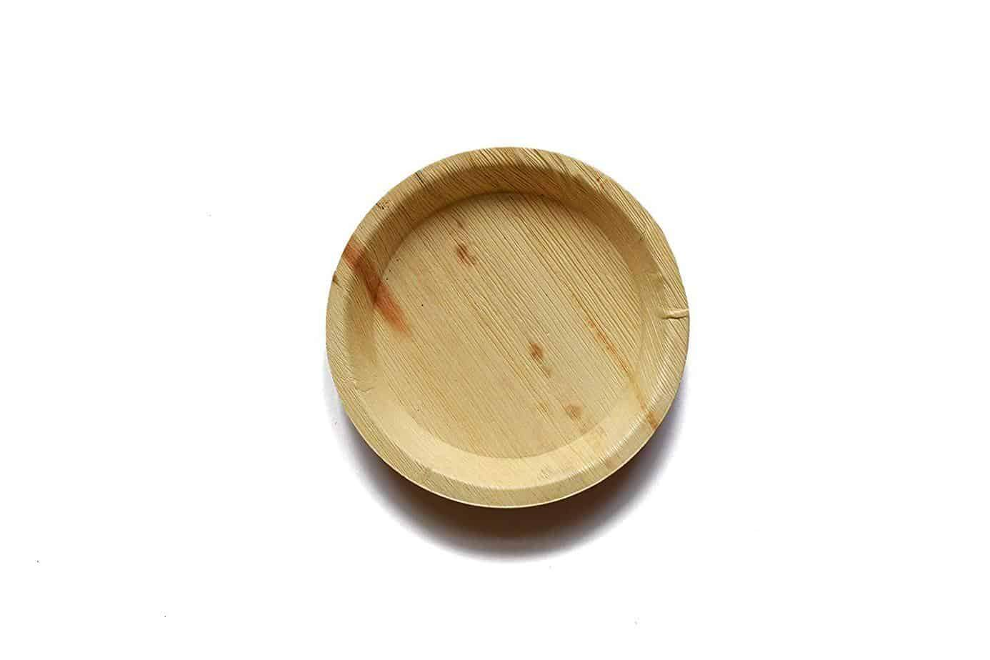 "8"" Round Palm Leaf Plates (Set of 25/50/100)"