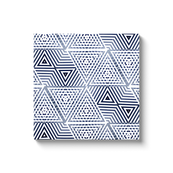 Minimal Geometric Black and White Canvas Print Wall Decor