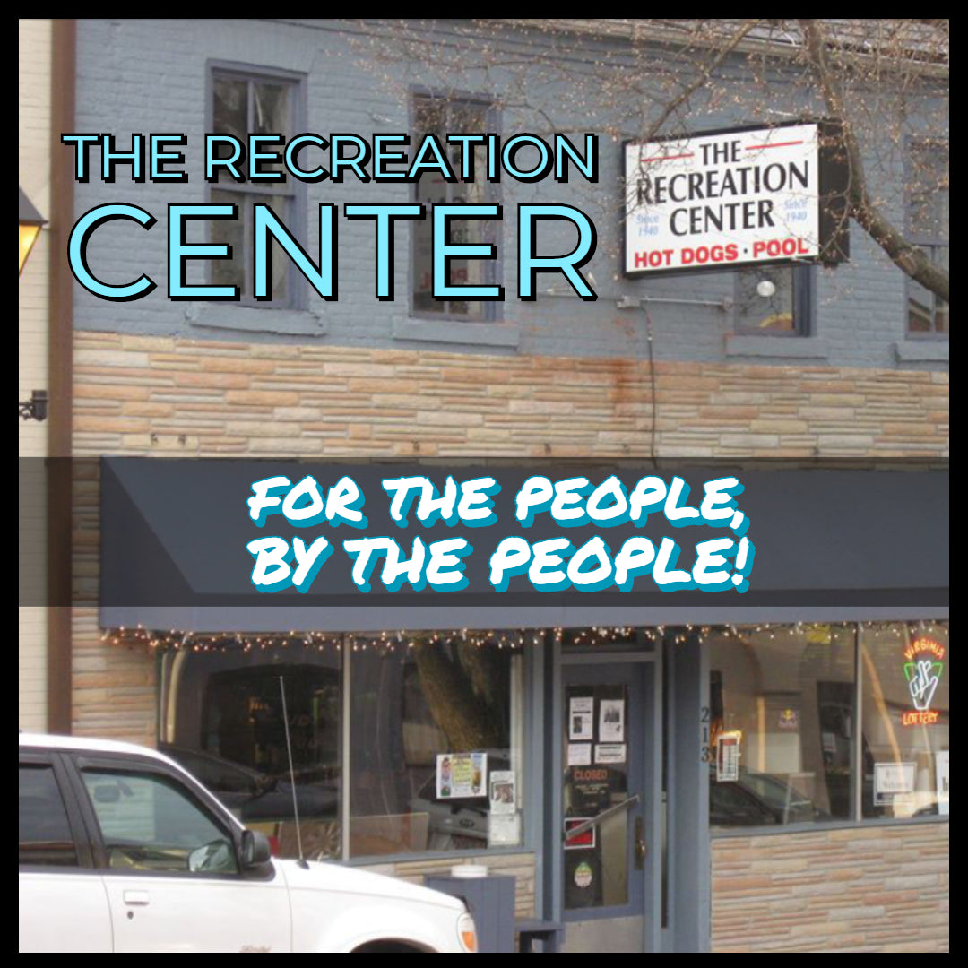 "🎸 🌭 THE RECREATION CENTER FXBG - ""BY THE PEOPLE, FOR THE PEOPLE"" 🌭 🎸"