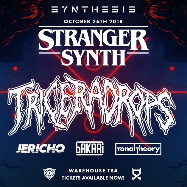 🎼 D.C MUSIC: SYNTHESIS PRESENTS STRANGER SYNTHS OCTOBER 26th 2018 🎼