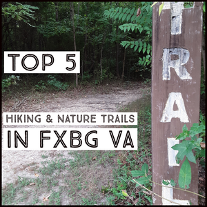 🌳 TOP 5 HIKING & NATURE TRAILS IN FREDERICKSBURG VIRGINIA 🌳