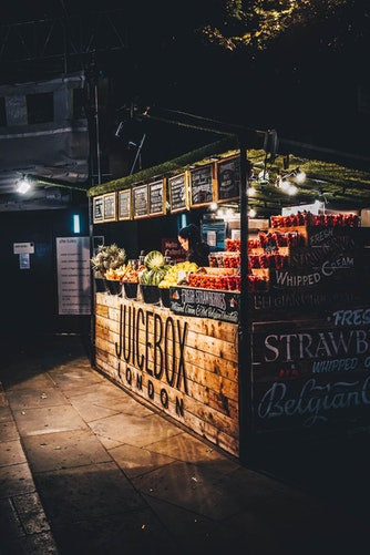 Food Cart or Food Stand