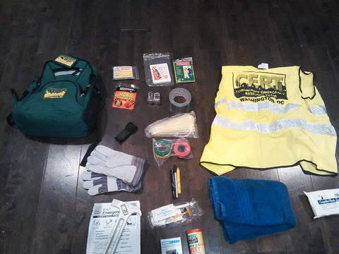 Hoodie Goodies, Washington D.C, Virginia, Maryland, CERT, Community Emergency Response Team, Emergency Preparedness, Disaster Preparation
